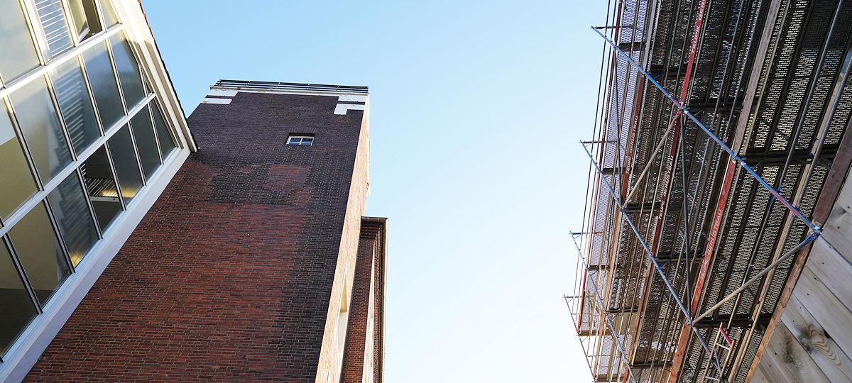 KTS Gebäude und Neubau