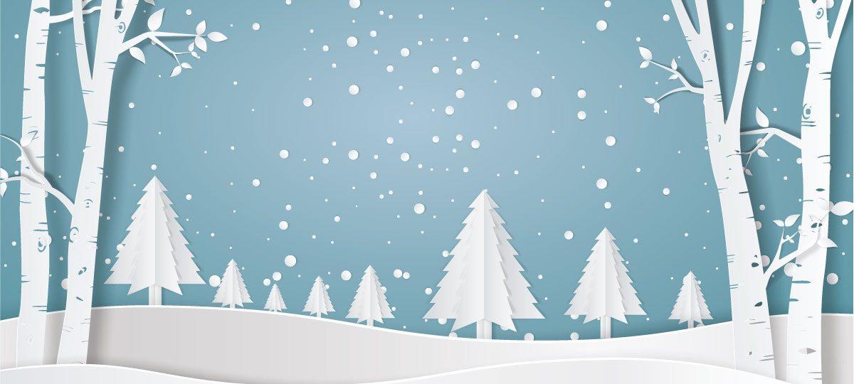 KTS Schneelandschaft Bäume Winter