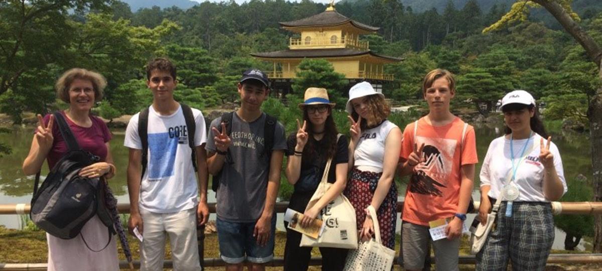 KTS Schüler in Japan
